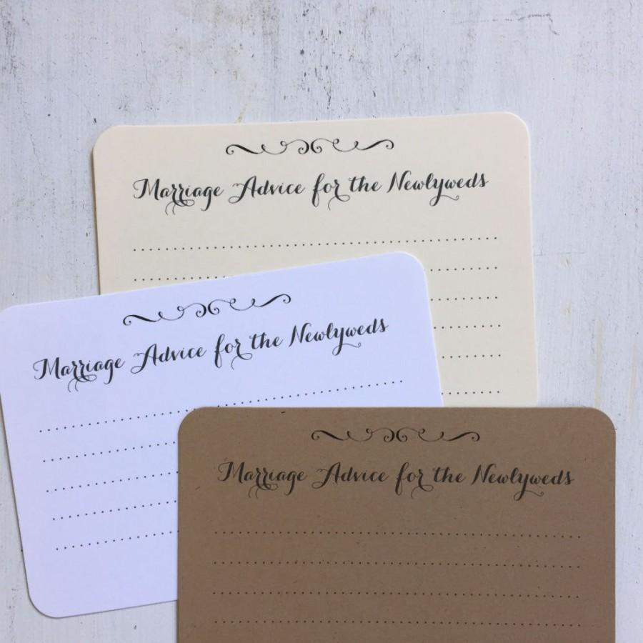 50 marriage advice cards wedding advice cards shower game cards