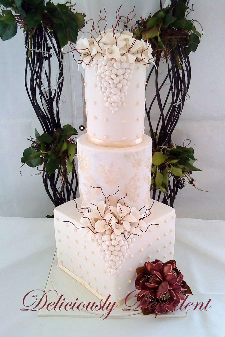 Свадьба - Deliciously Decadent Wedding Birthday Cakes Gold Coast