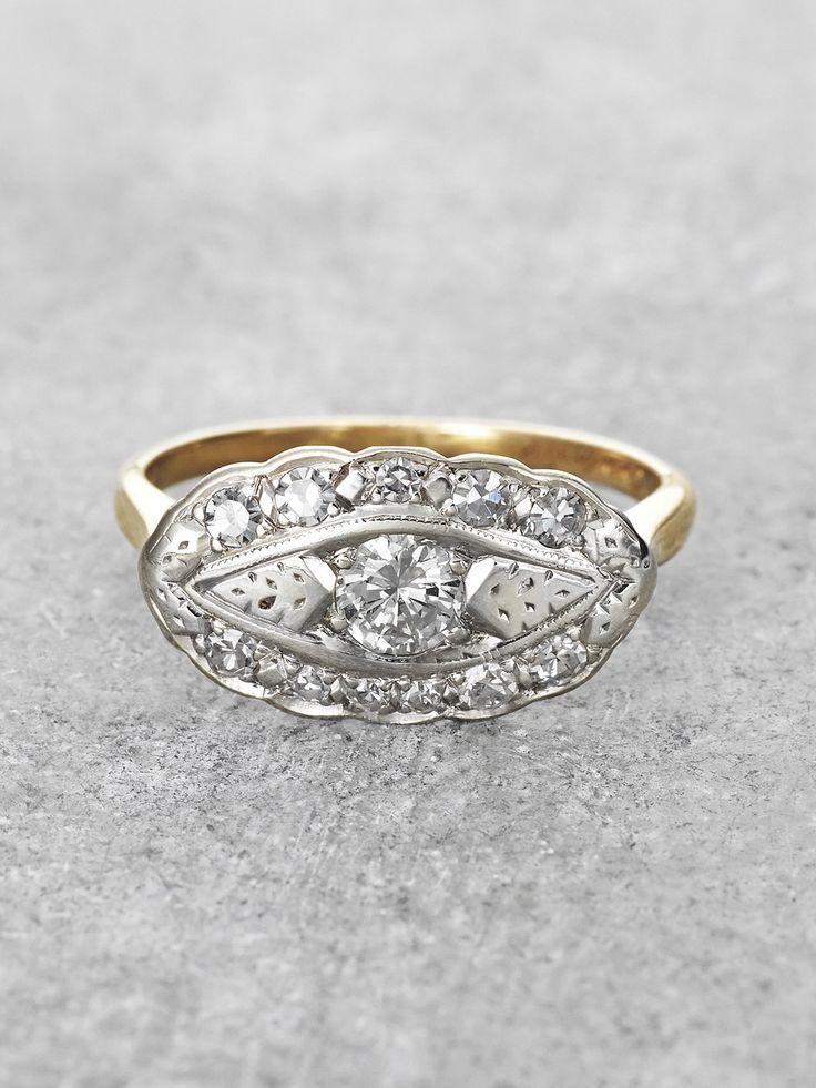 Свадьба - Diamond Bouquet Ring