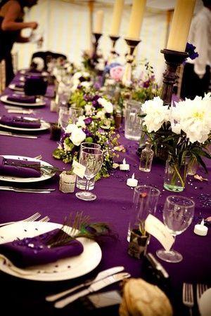Свадьба - Real Brides' Table Decorations