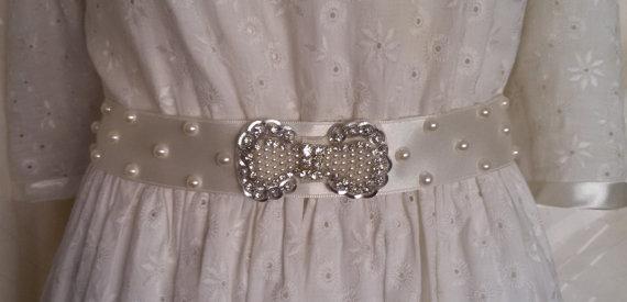 Свадьба - Wedding sash belt, Wedding accessories, Bridal sash, Sash belt, Bridal belt, Crystal bridal sash, Satin ribbon with crystal and rhinestone,