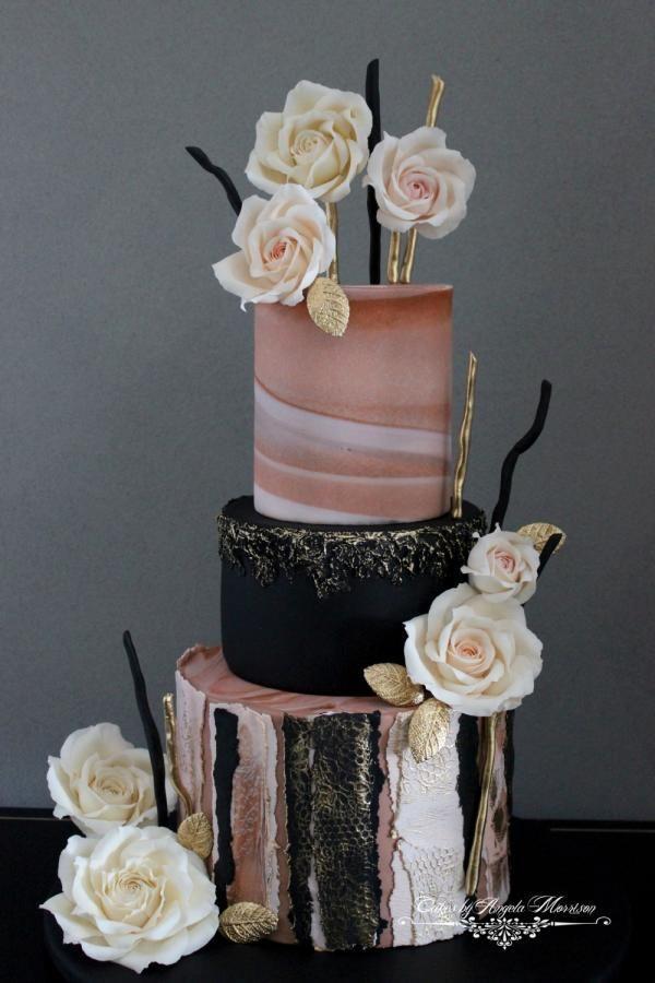 Свадьба - Torn Paper Cake