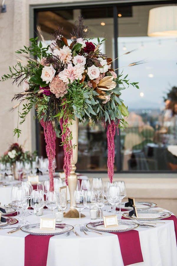 Свадьба - Champagne And Burgundy Wine Country Wedding At Gloria Ferrer Caves & Vineyards