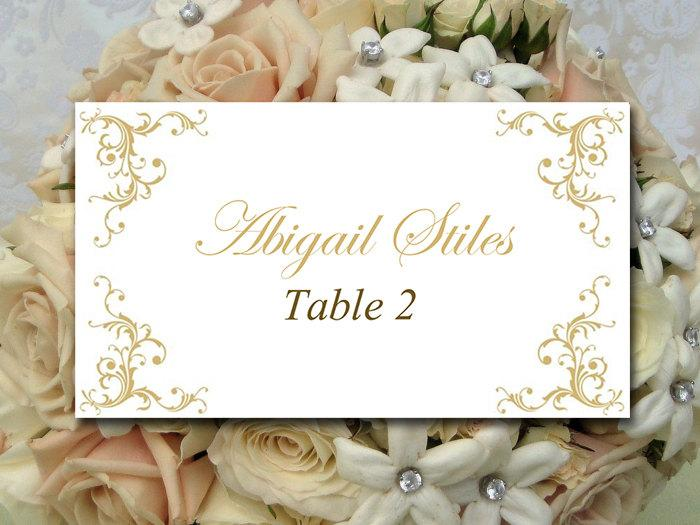 templates for place cards for weddings - diy wedding place card template printable escort card