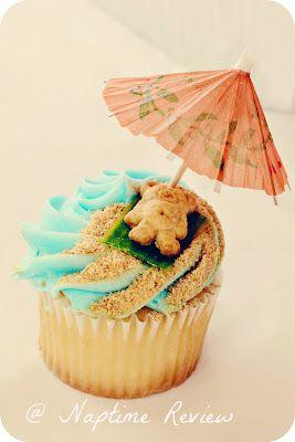 Düğün - Teddy-at-the-Beach Cupcakes