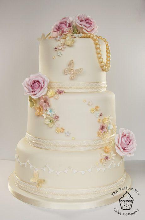 Свадьба - Vintage Wedding Cake