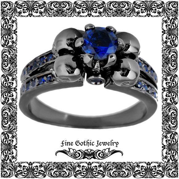 Свадьба - Gothic Engagement Ring