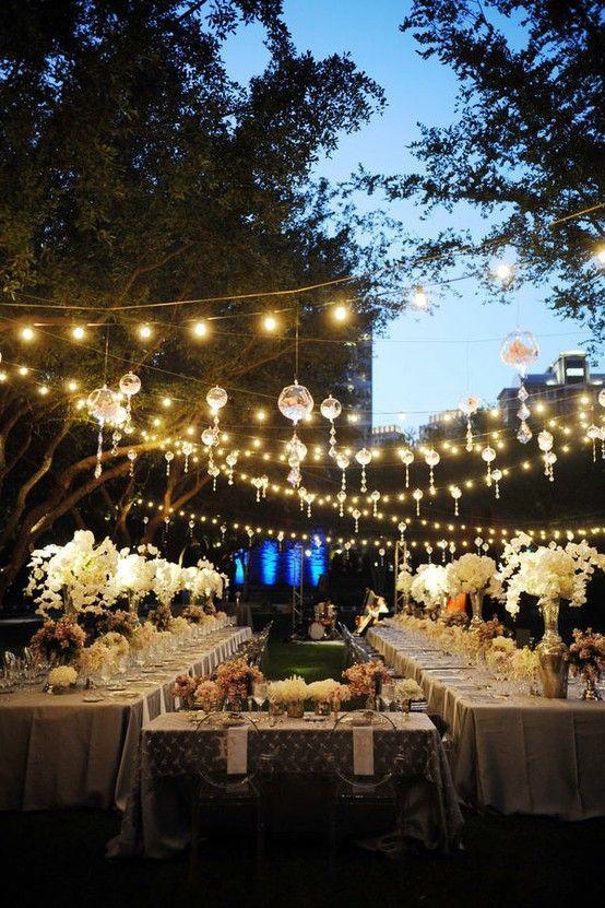 Wedding - Jeux De Lumière : Plus Qu'un Détail Déco, L'assurance De Créer Une Véritable Ambiance