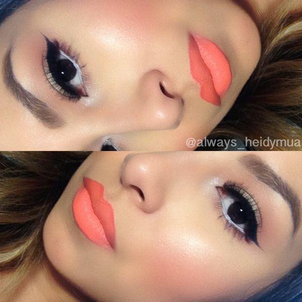 Свадьба - Orange Lipstick