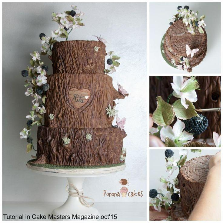 Свадьба - Autumn At Its Best - Cake Masters Magazine - TUTORIAL OCTOBER 2015