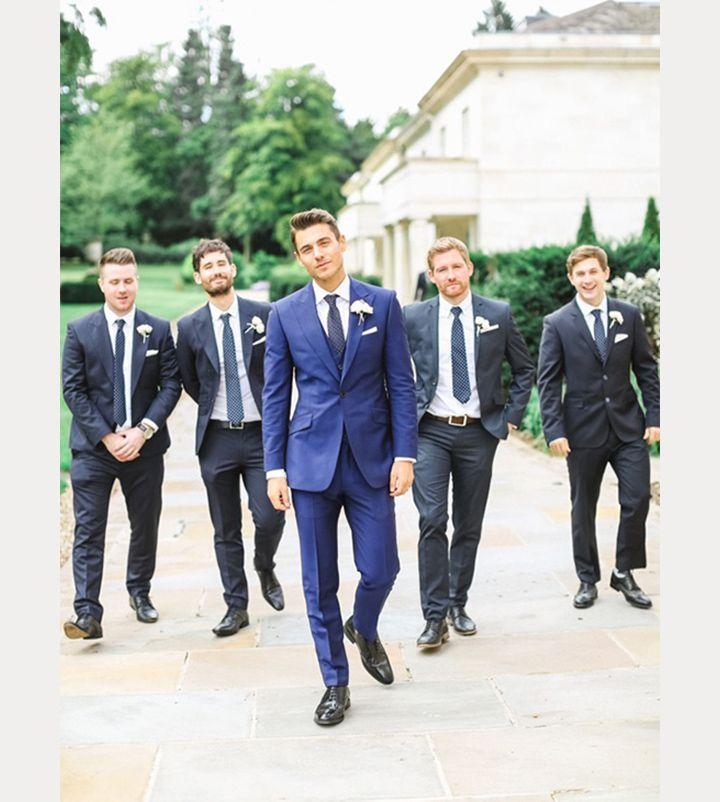 Hochzeit - 7 Distinctive Grooms That Stand Out From Their Groomsmen