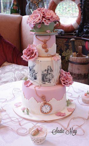 Wedding - 6 Storybook Wedding Cakes