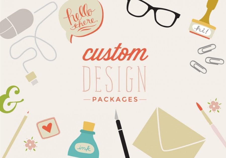 Свадьба - Custom Invitation Design - Wedding Invitations - Showers - Parties - Bespoke design