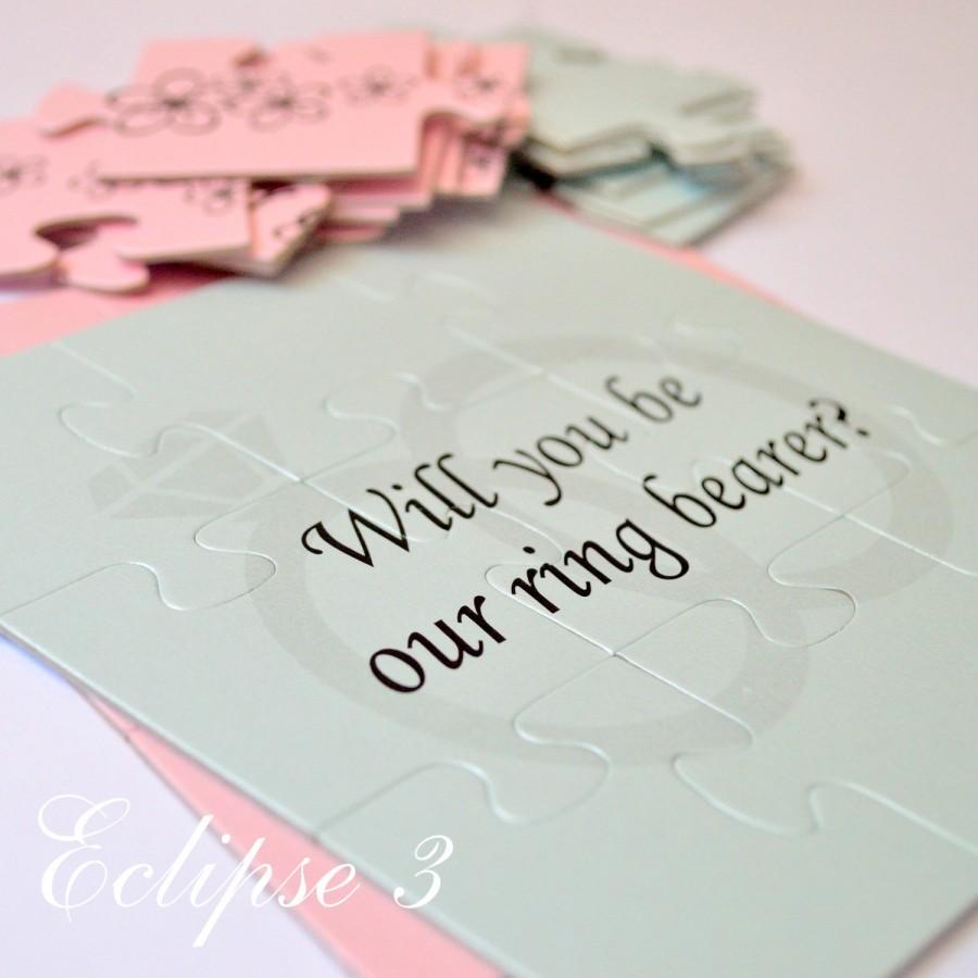 Wedding - Will You Be Our Ring bearer, Ring bearer Puzzle, Will You Be my Ring bearer, Ring bearer Proposal, puzzlе, Ring bearer Card, Ask Ring bearer