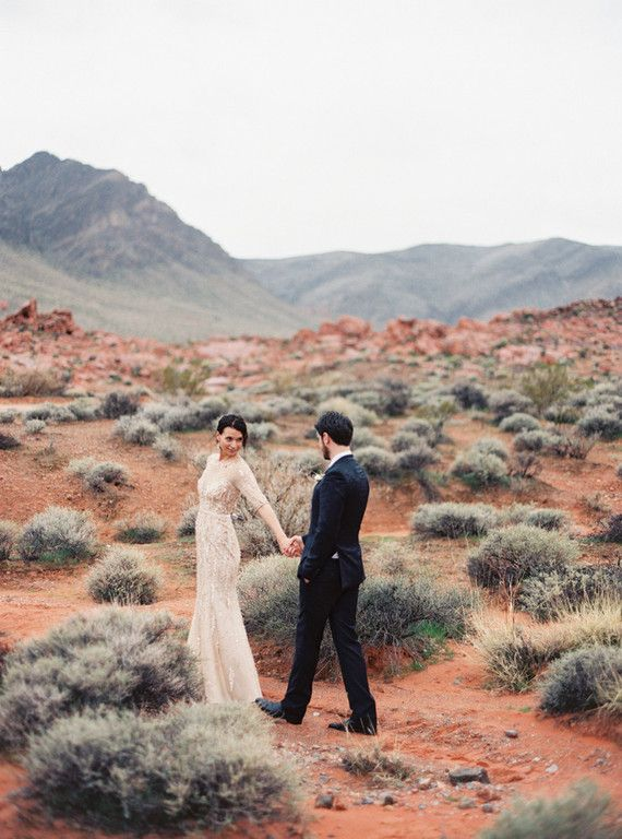 Wedding - Desert And Indigo Wedding Inspiration