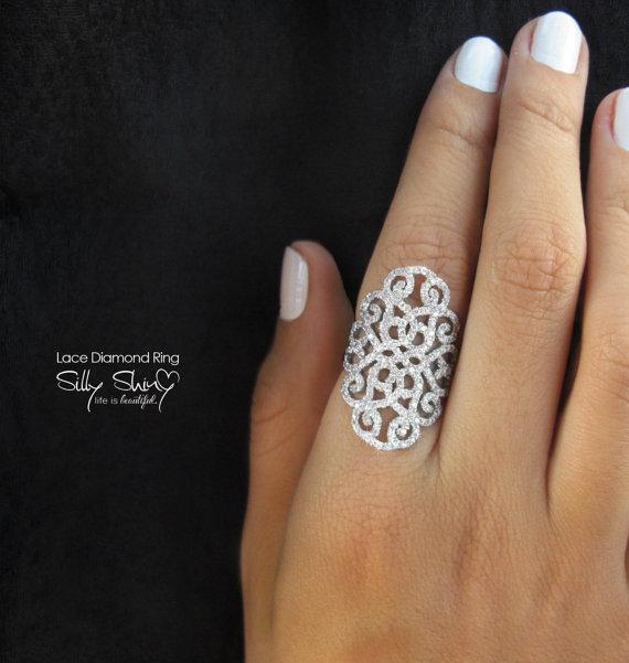 Wedding - Duchess Lace Diamond Ring
