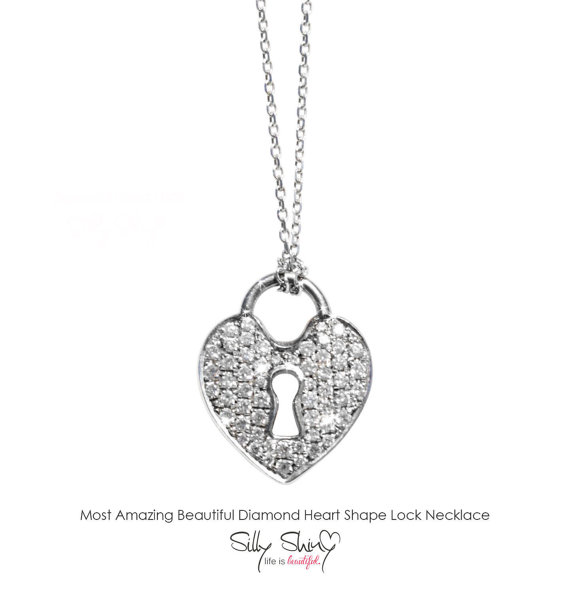Diamond heart locket necklace 14k white gold pendant necklace key diamond heart locket necklace 14k white gold pendant necklace key necklace heart necklace diamond necklace gold necklace mozeypictures Image collections