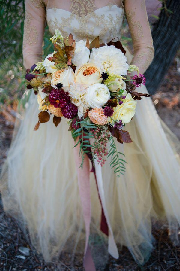Düğün - Fall Wedding Inspiration With Berries