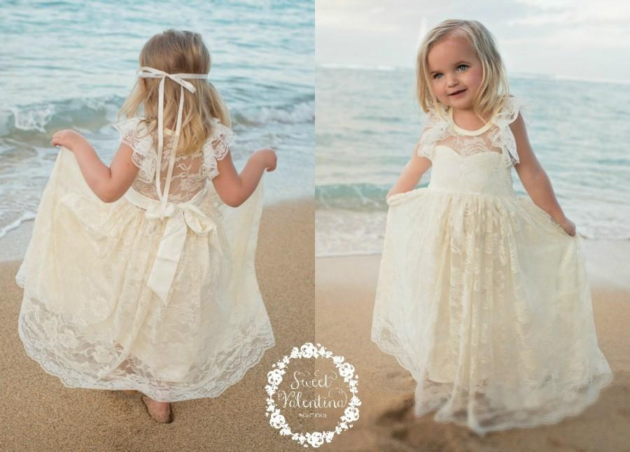 Lace Girl Dress, Flower Girl Dress, Flower Girl Lace Dresses ...