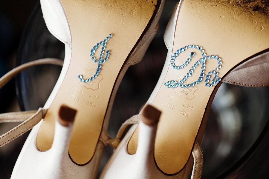Baby Blue I Do Shoe Stickers For Brides Wedding Shoes Sticker Bridal Details Decor Something