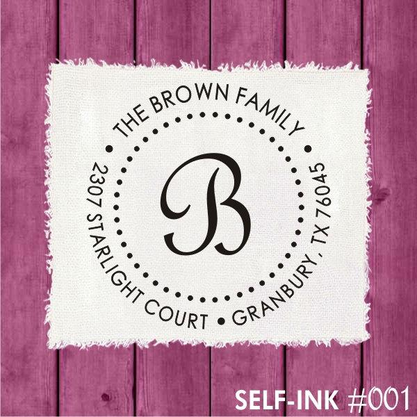 Свадьба - RETURN ADDRESS STAMP - custom return address stamp, personalized wedding gift, self-inking address stamp (001)