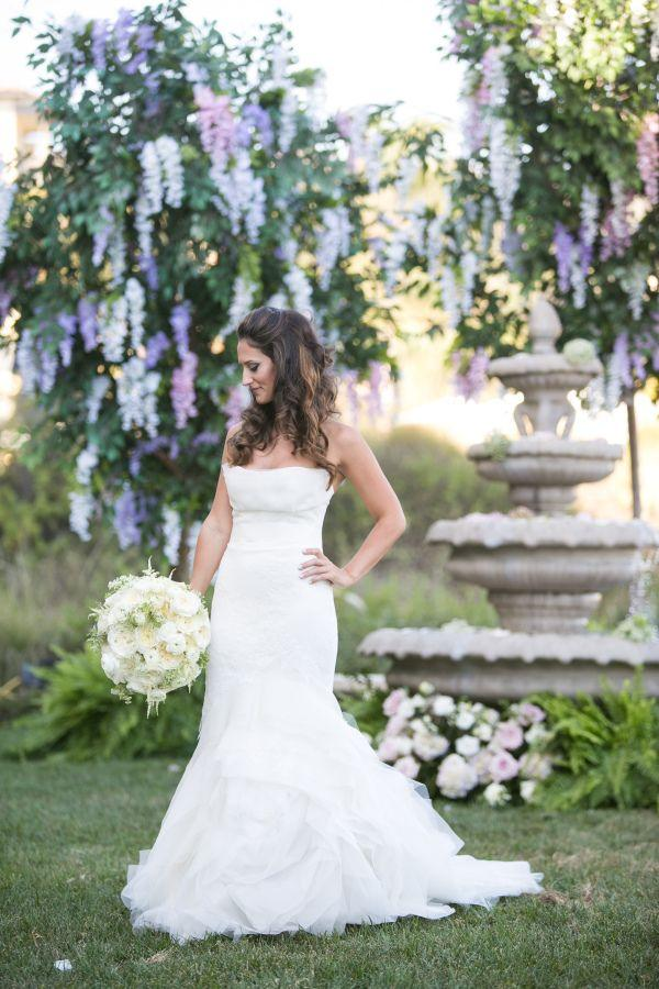 Hochzeit - Elegant   Enchanted Garden Wedding At Terranea