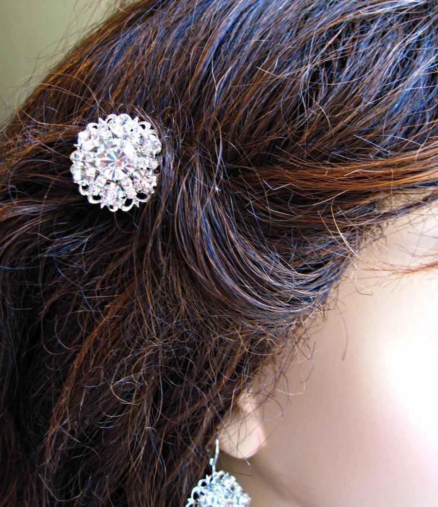 Crystal Hair Pins Wedding Hair Clips Bridal Bobby Pins
