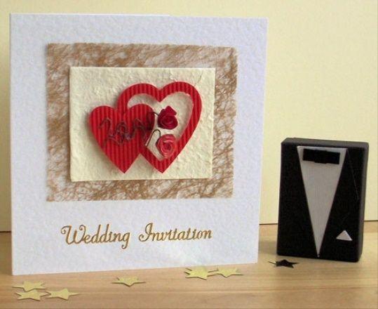 Hochzeit - Kate Joel S Garden-Themed Wedding - Handmade Wedding Invitations .. 2015 - 2016