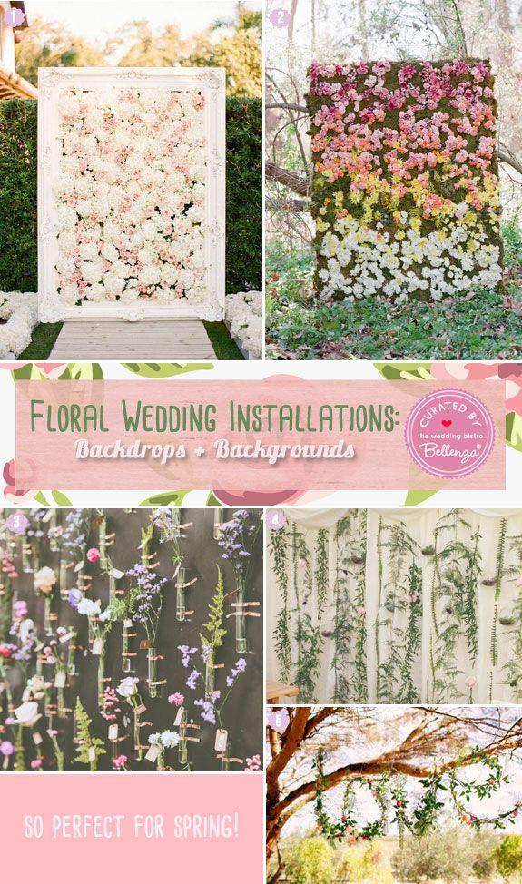 Mariage - Floral Fever: Pretty Floral Installations For Spring Weddings!