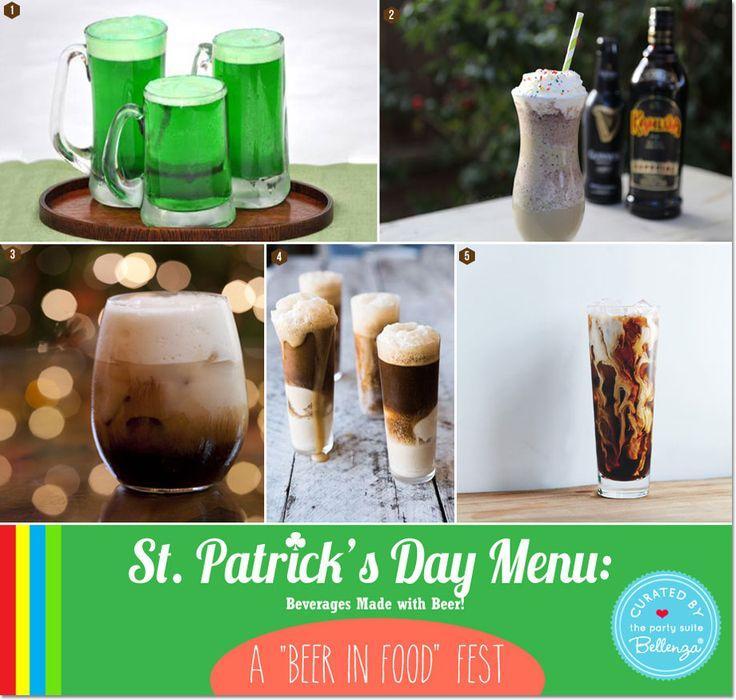 "Свадьба - St. Patrick's Day-themed Birthday Menu: A ""Beer IN Food"" Fest!"