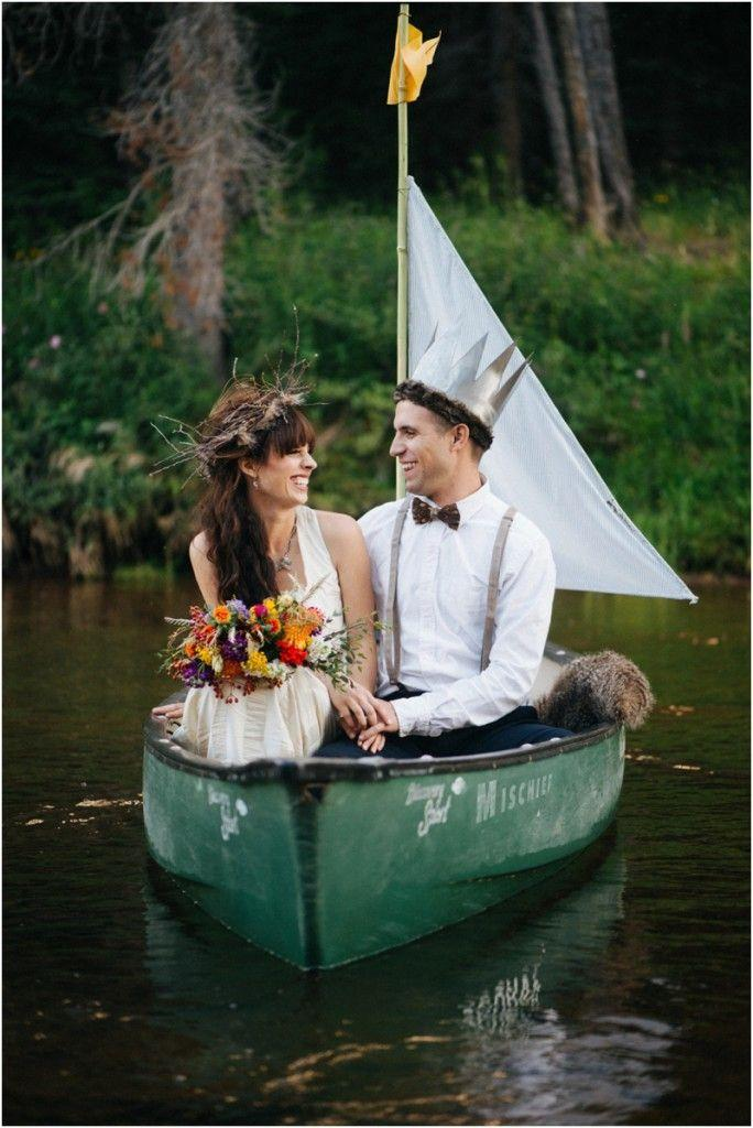 Mariage - Sustainable Stylized Shoot: Where The Wild Things Are, Colorado - Black Sheep Bride