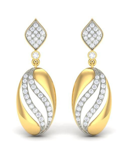 Свадьба - The Octavia Diamond Earrings