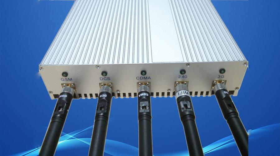 زفاف - Fünf-Routen WLAN Störsender Telefon Signal Störsender