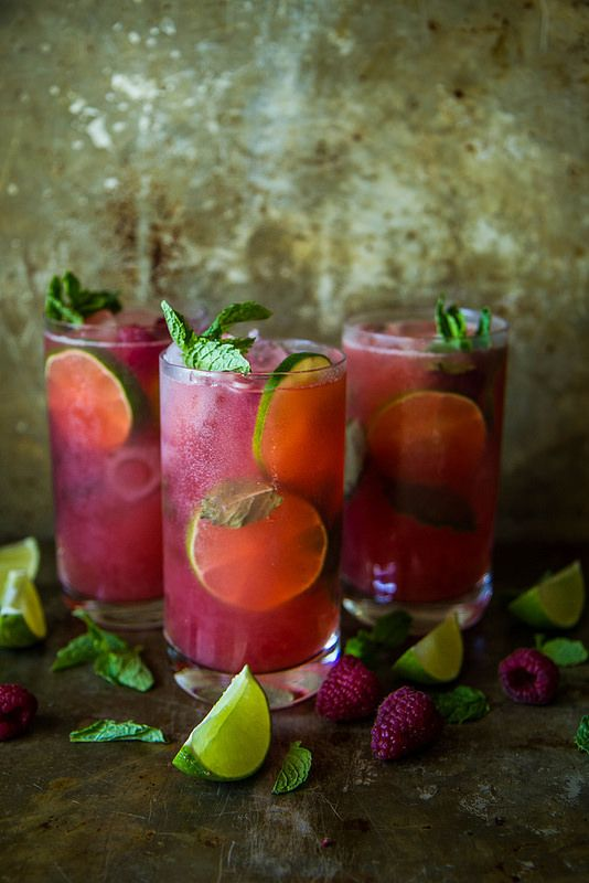 Wedding - Raspberry Mojitos