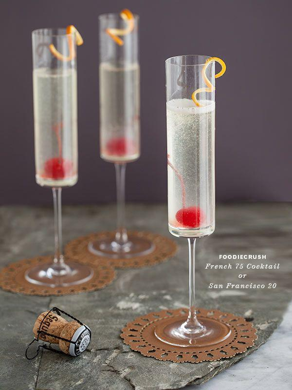Cocktails & Drinks - Bubbly French 75 Cocktail #2491470 ...