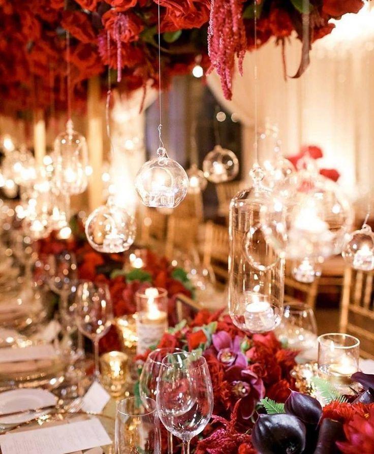 "زفاف - Belle The Magazine On Instagram: ""You Can Never Go Wrong With Red Roses At Your Wedding! ❤️ Via: @agoodaffair"