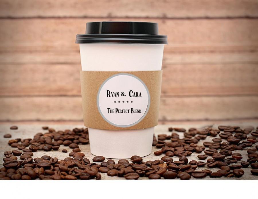 Свадьба - Custom Coffee Sleeves