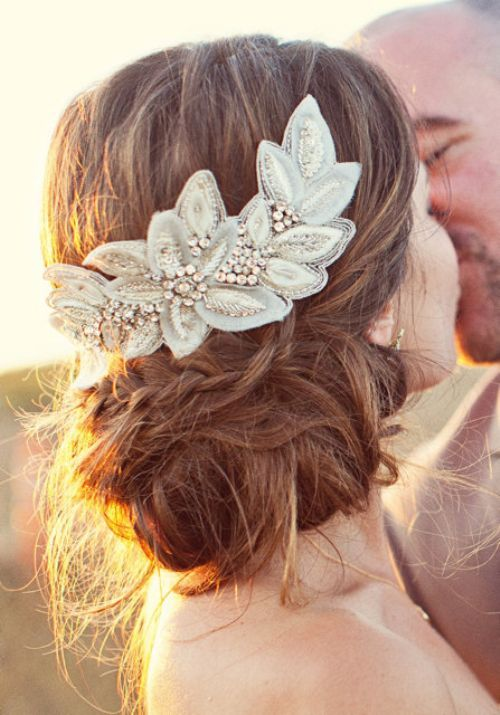 زفاف - 25 Prettiest Lace Bridal Hairpieces & Headpieces For Your Wedding Hairstyles