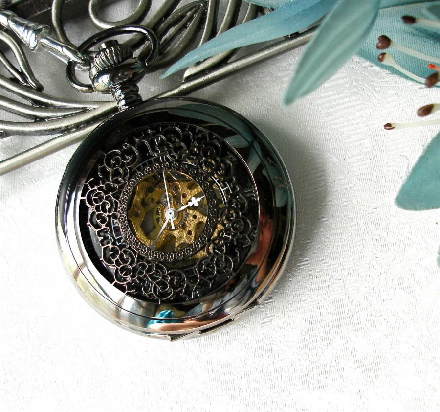Wedding - SALE Pocket Watch Art Nouveau
