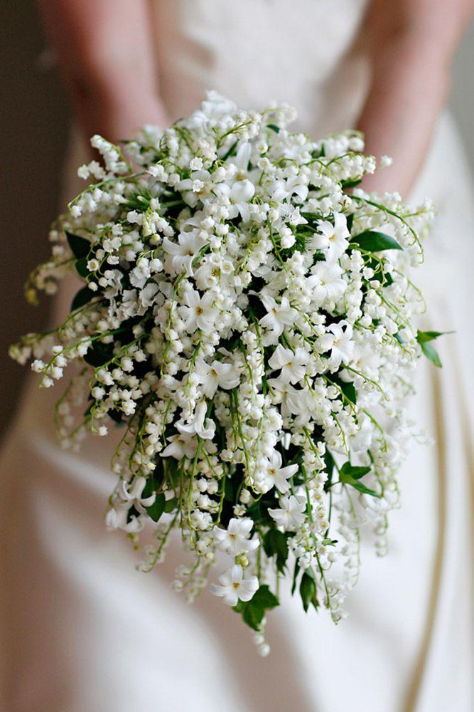 Hochzeit - 24 All White Wedding Bouquets Inspiration