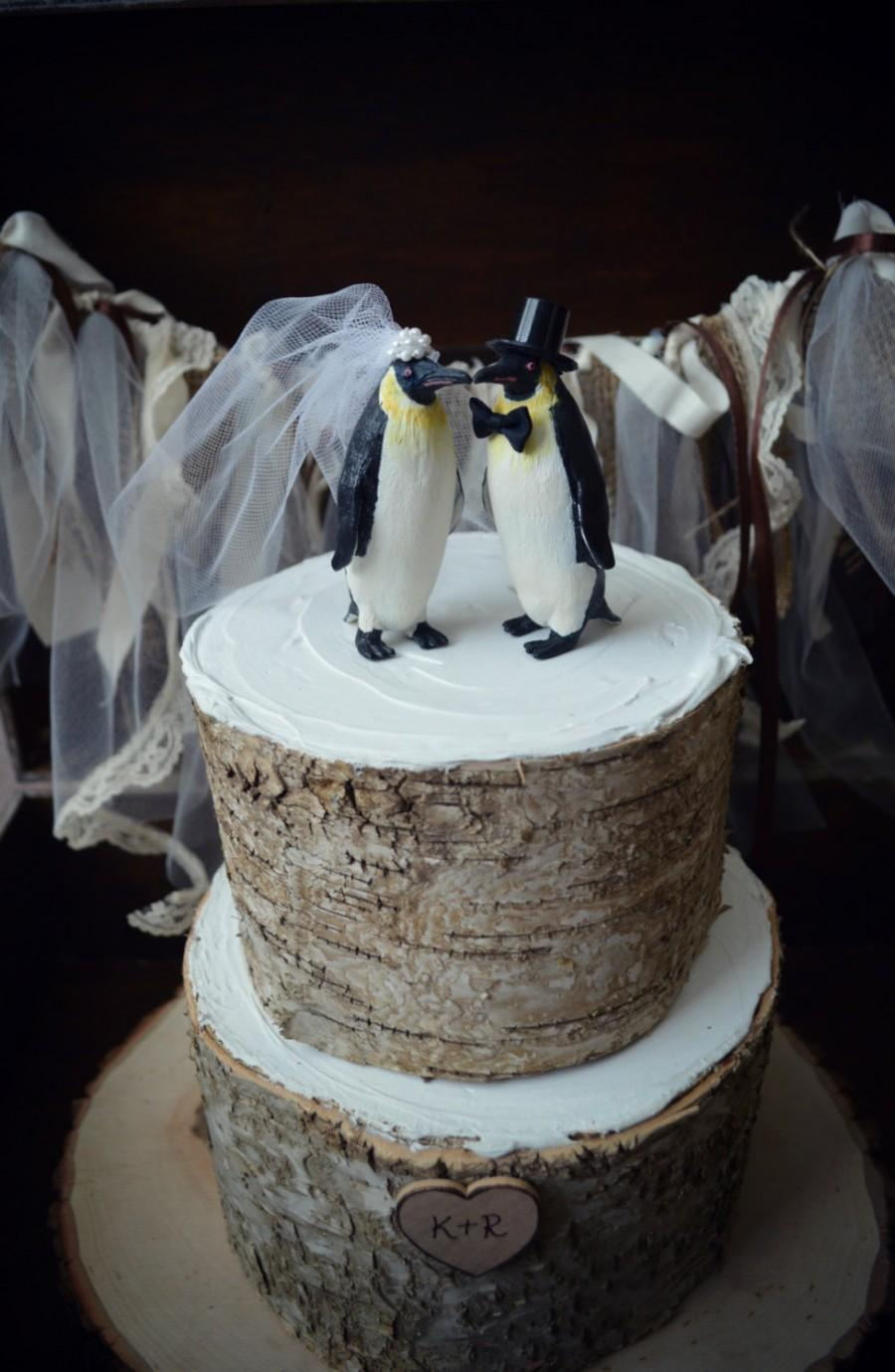 Decoración - Penguin-wedding-cake #2491846 - Weddbook