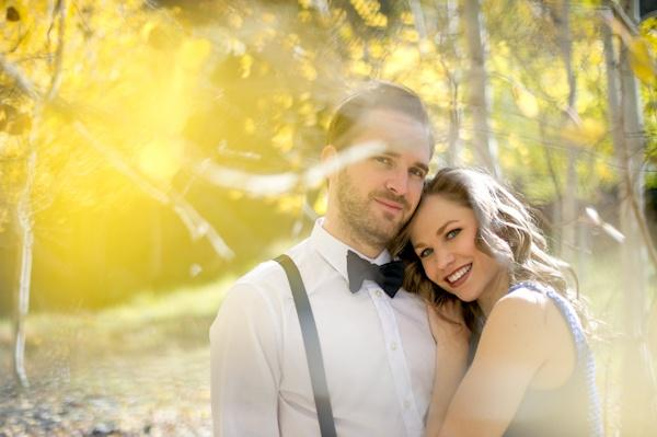 Wedding - Engagement Session In Colorado Mining Town