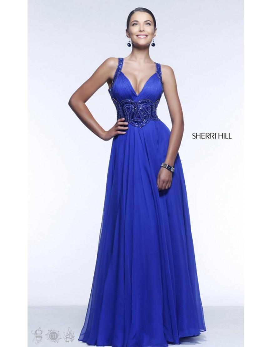 Wedding - Beads Sherri Hill Royal Prom Dresses 11102 Online Store