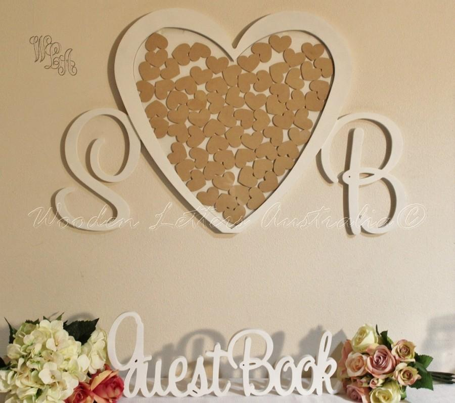 dekor - wedding heart drop box guest book #2492035 - weddbook, Einladungen