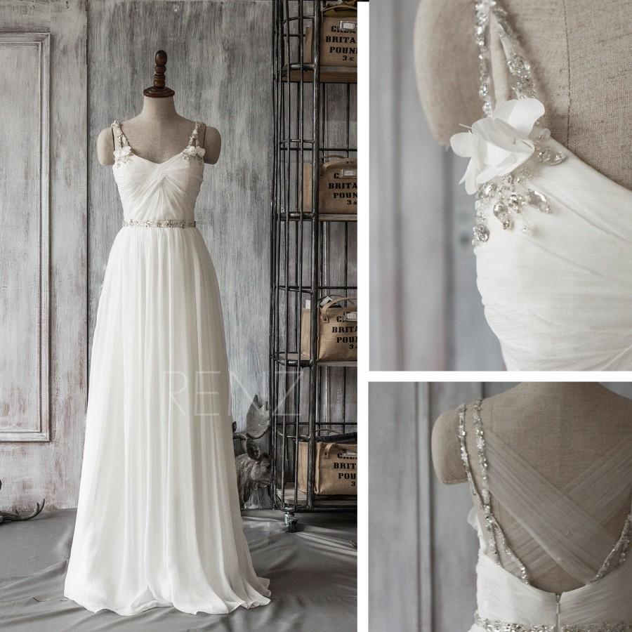 2016 off white bridesmaid dress with crystal sash backless 2016 off white bridesmaid dress with crystal sash backless wedding dress long evening gowns formal dress prom dress floor length f061a ombrellifo Choice Image