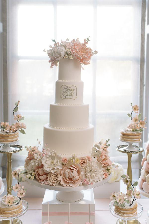 زفاف - Pretty In Pink Romantic Garden-Inspired Fall Wedding