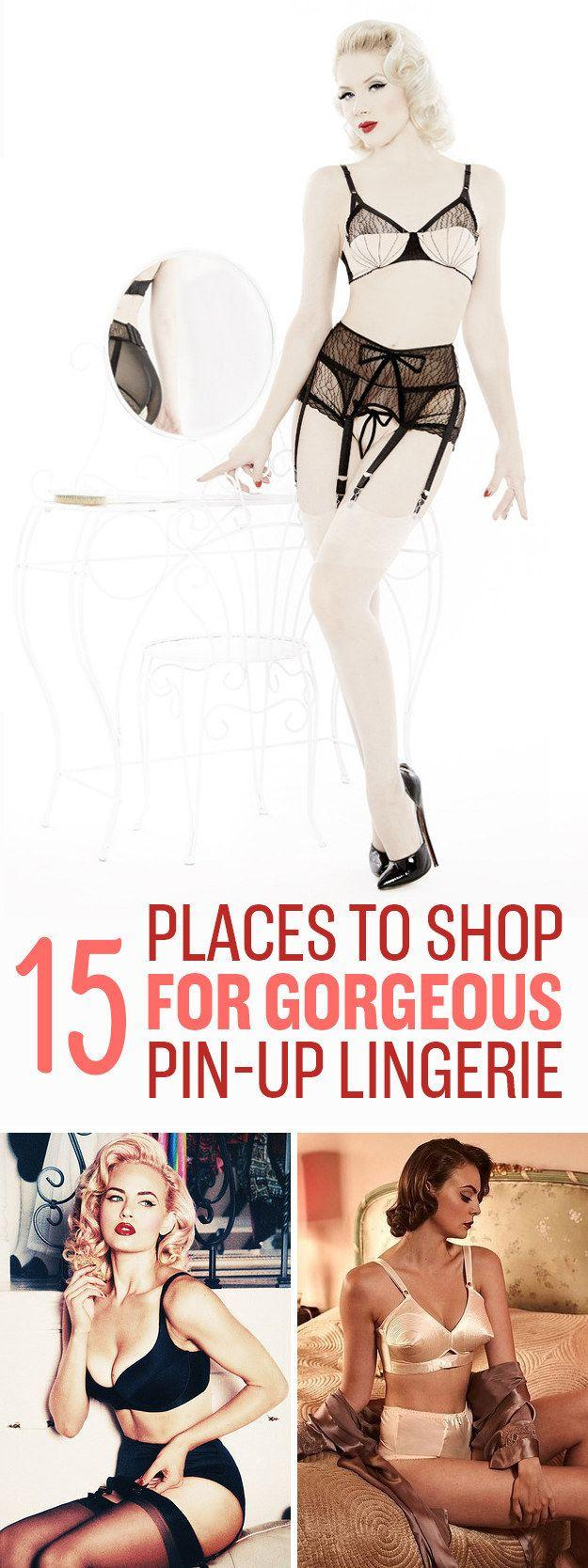 Mariage - 15 Vintage-Inspired Lingerie Stores You'll Wish You Knew About Sooner