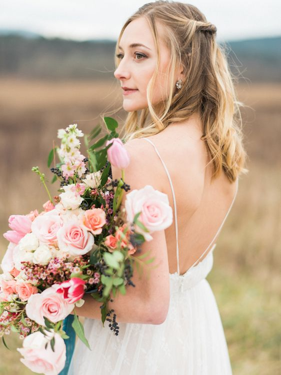 Свадьба - Bohemian Bridals In The Smoky Mountains