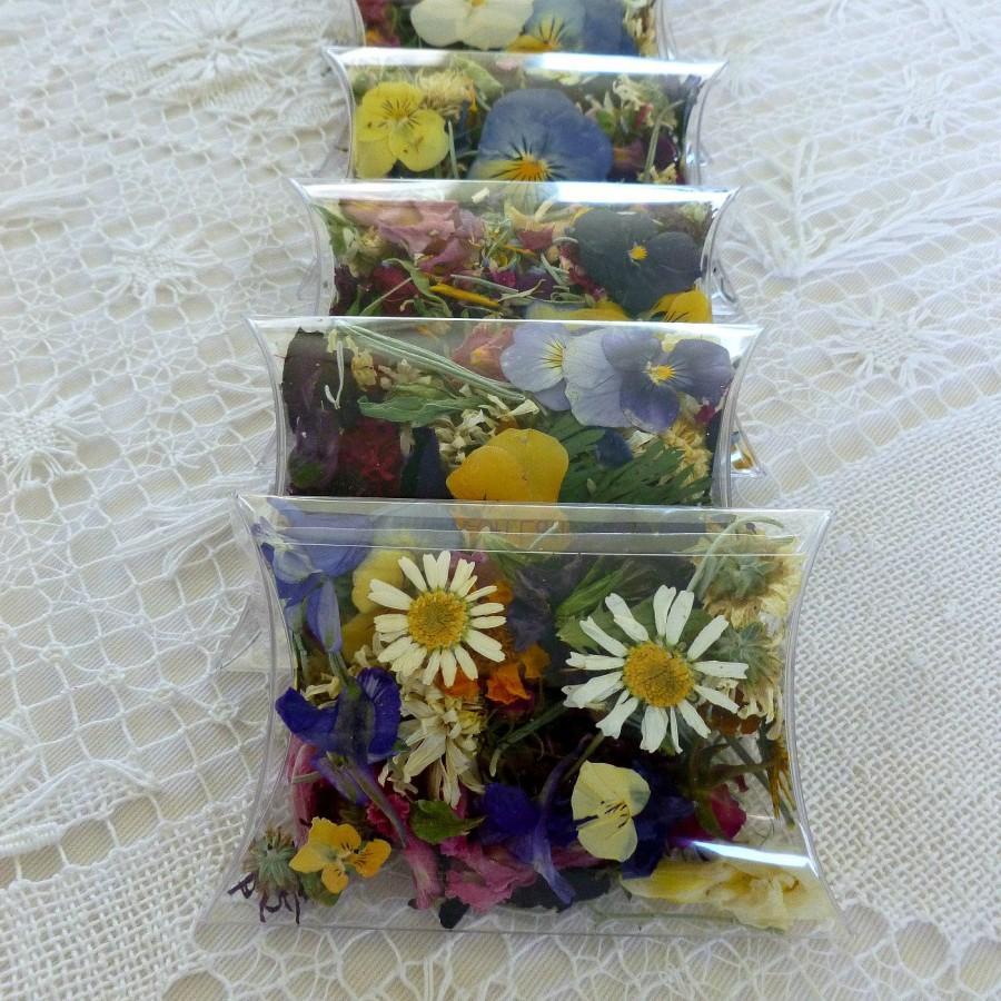Dry Flowers Dry Petals Dry Leaves Confettiwedding Confetti