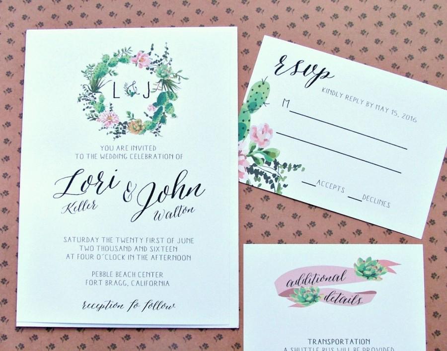 Свадьба - Wedding Invitation